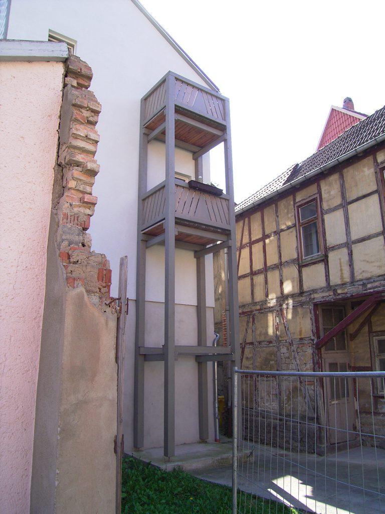 Balkon Schloßhof