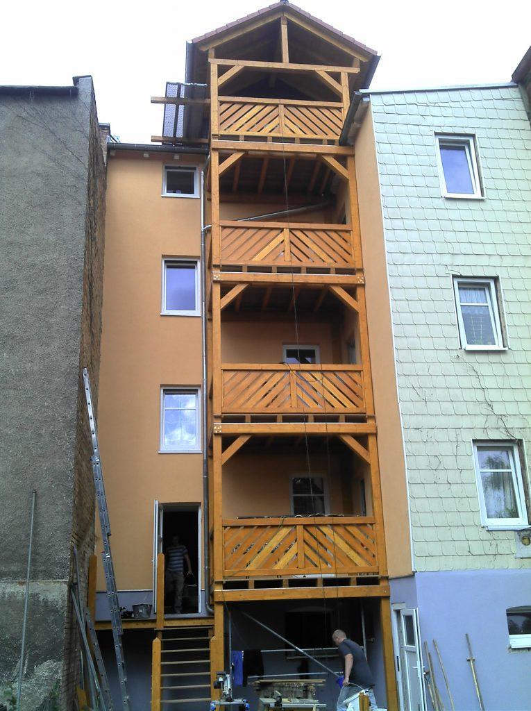 Balkon Tennstedter Str. a