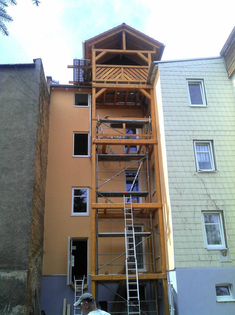 Balkon Tennstedter Str. b